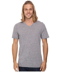 Hurley Staple Tri Blend V Neck Charcoal Men's T Shirt Gray