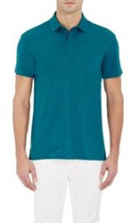 Z Zegna Techmerino Polo Shirt Blue