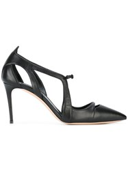 Casadei Cut Out Pumps Black