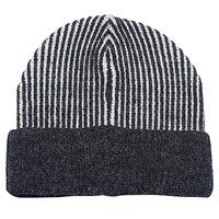 French Connection Pocket Lisa Beanie Dark Grey Marl