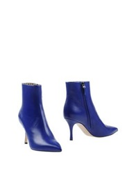 Lerre Ankle Boots Bright Blue