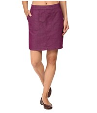 Prana Kara Skirt Grapevine Women's Skirt Purple