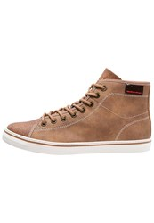 S.Oliver Hightop Trainers Camel