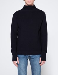 Andersen Andersen Sailor Turtleneck In Navy Blue