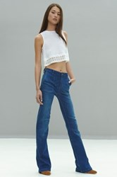 Alexis Meester Cropped Tank White