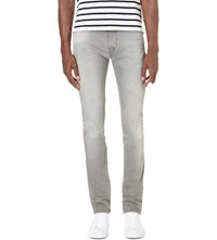 7 For All Mankind Ronnie Slim Fit Skinny Jeans American Shoreline Grey