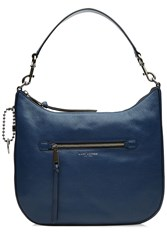 Marc Jacobs Recruit Leather Hobo Tote Blue