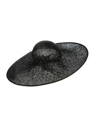 Biba Jerry Lace And Coil Trim Hat Black