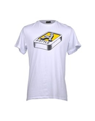 A Style Short Sleeve T Shirts Yellow