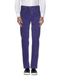 9.2 By Carlo Chionna Trousers Casual Trousers Men Purple