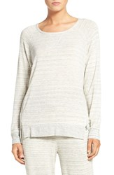 Daniel Buchler Women's Space Dye Sweatshirt Grey