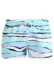 Boardies Swimming Shorts Aqua Green Blue