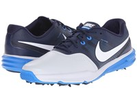 Nike Lunar Command Pure Platinum White Midnight Navy Photo Blue Men's Golf Shoes