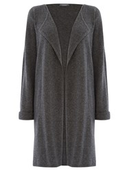 Warehouse Cashmere Cardigan Dark Grey
