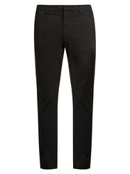 Bottega Veneta Slim Leg Stretch Cotton Chino Trousers