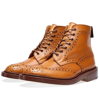 Trickers Tricker's Stow Brogue Derby Boot Acorn