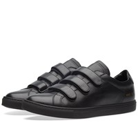 Common Projects Achilles Three Strap Black
