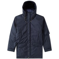Nanamica Down Coat Blue