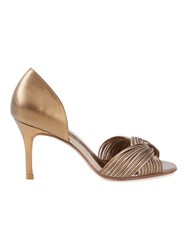 Sarah Chofakian High Heel Sandals Metallic