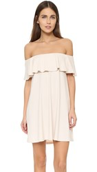 Susana Monaco Fifi Off The Shoulder Dress Blanced Almond