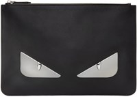 Fendi Black Bag Bug Pouch