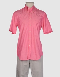 Xacus Short Sleeve Shirts Light Purple