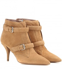 Tabitha Simmons Fitz Suede Ankle Boots Beige