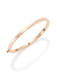 Roberto Coin 18K Rose Gold Oval Bangle Bracelet