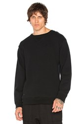 Robert Geller Seconds Crewneck Sweatshirt Black