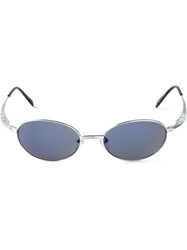 Jean Paul Gaultier Vault Oval Sunglasses Metallic