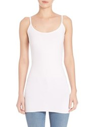 Helmut Lang Seamless Tank Top White Black
