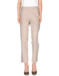 Niu' Trousers Casual Trousers Women Beige