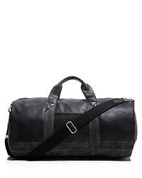 Toms Leather And Canvas Duffel Bag