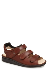 Finn Comfort 'Tunis' Sandal Men Chestnut