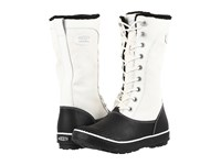 Keen Elsa Tall Canvas Waterproof Star White Black Women's Waterproof Boots Beige