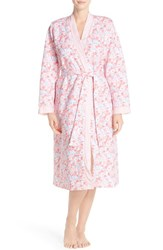 Women's Midnight By Carole Hochman 'Ballet' Quilted Robe Crowded Floral