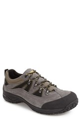 Dunham Men's Cloud Low Waterproof Hiking Shoe Grey Suede