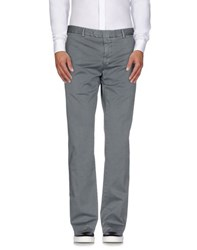 Santaniello And B. Trousers Casual Trousers Men Grey