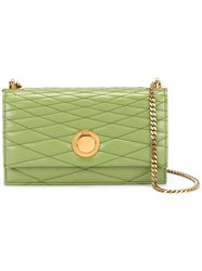 Bally Extra Small 'Eclipse' Shoulder Bag Green