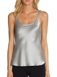 Josie Natori Allure Silk Tank Natural