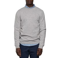 Norse Projects Light Grey Lambswool Sweater