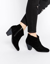 Daisy Street Black Western Style Heeled Boots