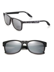 Carrera 54Mm Wayfarer Sunglasses Black Grey
