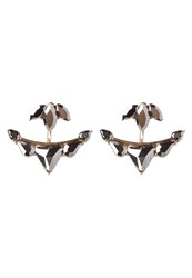 Aldo Mccloughan Earrings Hematite Goldcoloured Grey