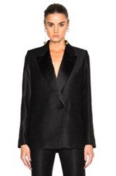 Victoria Beckham Tailored Tux Jacket In Black