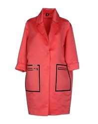 1 One Coats And Jackets Full Length Jackets Women Coral