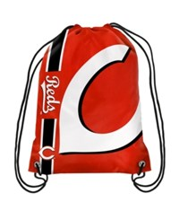 Forever Collectibles Cincinnati Reds Big Logo Drawstring Backpack