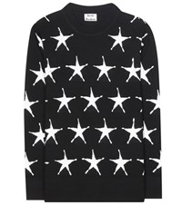 Acne Studios Paima Star Wool Sweater Black