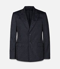 Christopher Kane Technical Single Breasted Tailored Jacket Black
