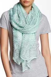 Lava Nouveau Printed Scarf Green
